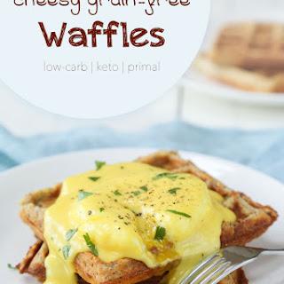 Cheesy Keto Waffles