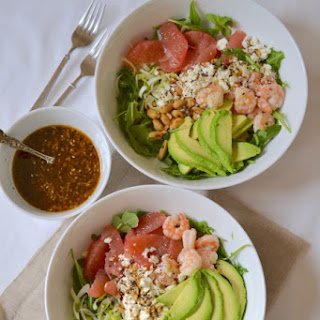 Shrimp & Grapefruit Salad