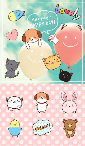 +HOME圖章套組 可愛動物