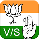 Vote For BJP vs Congress icon