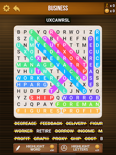 Wow Search: Classic Word Search cheat hacks