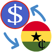 US Dollar to Ghana Cedi / USD to GHS Converter