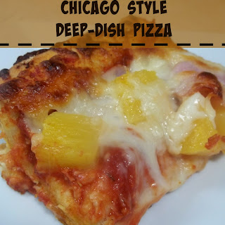 Chicago Style Deep-Dish Pizza