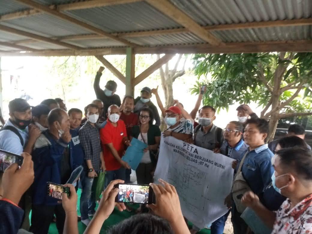 Gubsu Didesak Segera Lepas Lahan Eks HGU PTPN II di Desa Marindal I