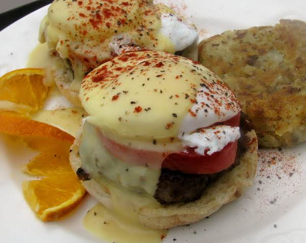 Sausage Eggs Benedict Recipe