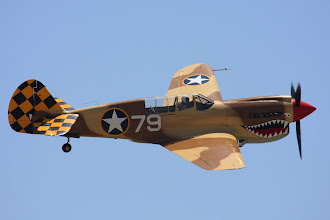 Photo: Curtiss P-40N Warhawk