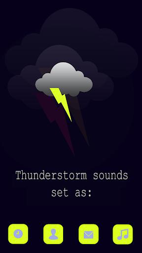 雷暴聲音鈴聲免費