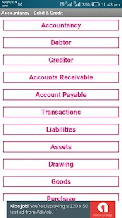 Basic Accounting App (Debit-Credit-GST Accounting) - náhled