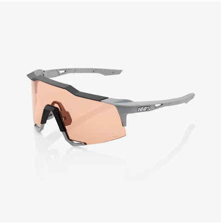 100% - Speedcraft - Soft Tact Stone Grey/HiPER Coral