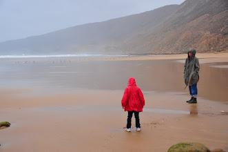 Photo: Bivouac - quand on vient pour voir la mer, on voit la mer ! avec l'impression d'être en Normandie...