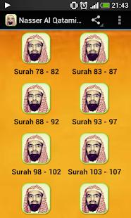 Nasser Al Qatami juz Amma MP3 - náhled