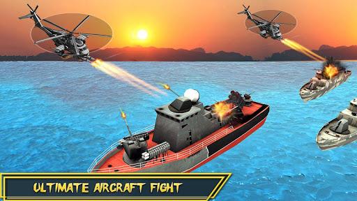 Helicopter Strike Gunship War: 3d Helicopter Games ss3