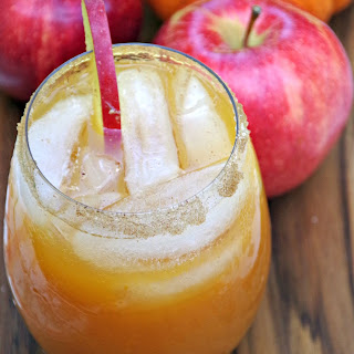 Pumpkin and Apple Cider Cocktail