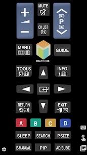TV (Samsung) Remote Control Apk 3