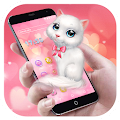 Cartoon Theme - Pink Kitty download