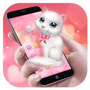 Cartoon Theme - Pink Kitty