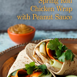 Spring Roll Chicken Wrap