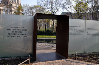 Photo: Berlin -  Memorial to the Gypsy people