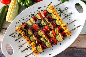 Grilled Kielbasa Skewers