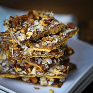 Toffee Matzo Brittle.