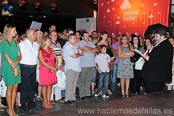 Presentació del concurs del Teatre Faller 2017