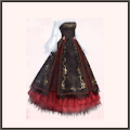 R-金刺繍ドレス