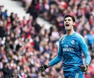 Thibaut Courtois ne fait pas partie de la sélection du Real Madrid pour affronter Huesca