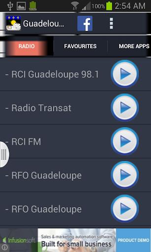 Guadeloupe Radio News