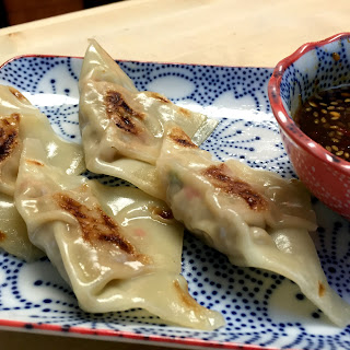Steamed Pot Stickers.