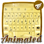 Golden Keyboard Animated APK icon