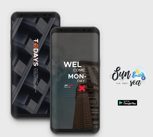 Screenshot for Sun & Sea for KWGT in Hong Kong Play Store