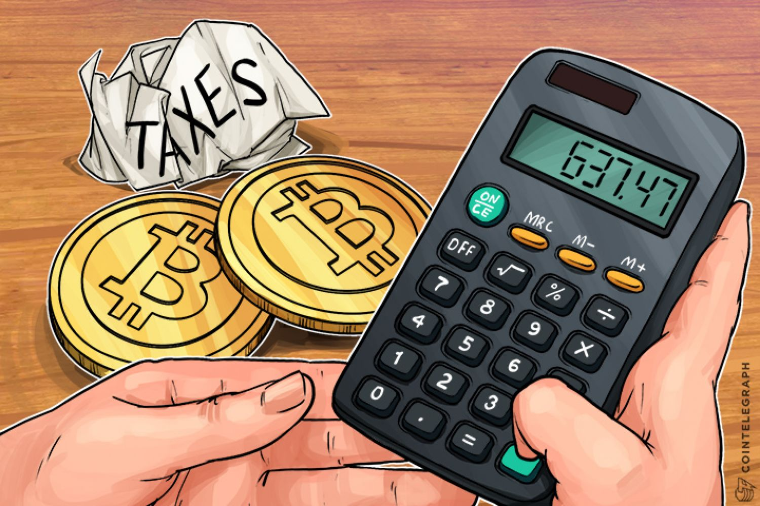 Calculating crypto taxes