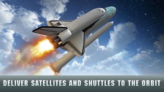 USA Air Force Rocket Flight 3D - náhled