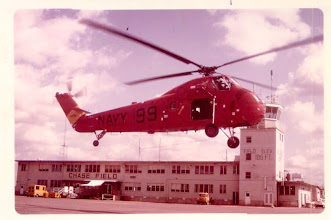 """Photo: Submitted by Malcolm Steck '69-70 Pilot for the Sikorsky CH34 """"Seahorse"""" and the Kaman SH-2B. Malcom was also the Aircraft Commander for Chase's C-47"""