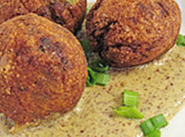 Crawfish Meatballs