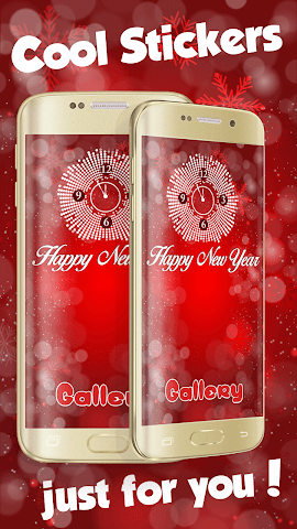android Happy New Year eCards Screenshot 0