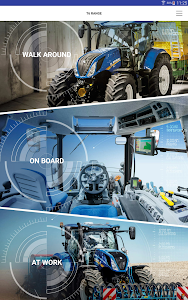 New Holland Ag. T6 range App screenshot 5