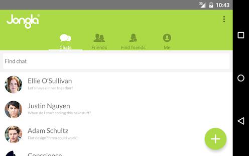 Jongla - Instant Messenger- screenshot thumbnail