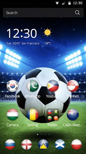 2016世界杯足球主题世界杯國旗圖標綠茵場壁紙男人热血主題
