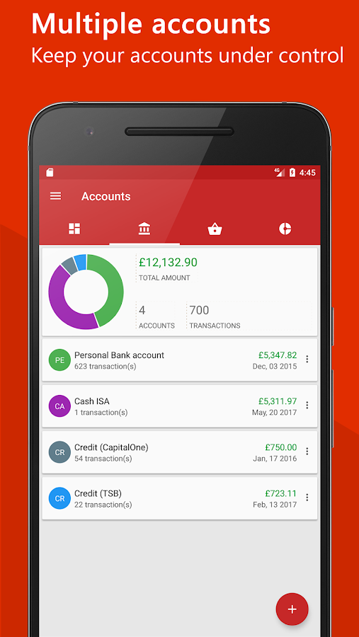 AntPocket - Budget & Finance- screenshot