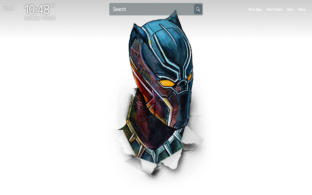 Black Panther Wallpapers NewTab Themes