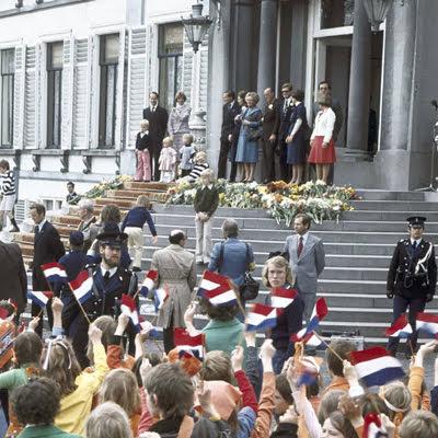 Koning Juliana bepaalde het gezicht van Koninginnedag, nu Koningsdag.