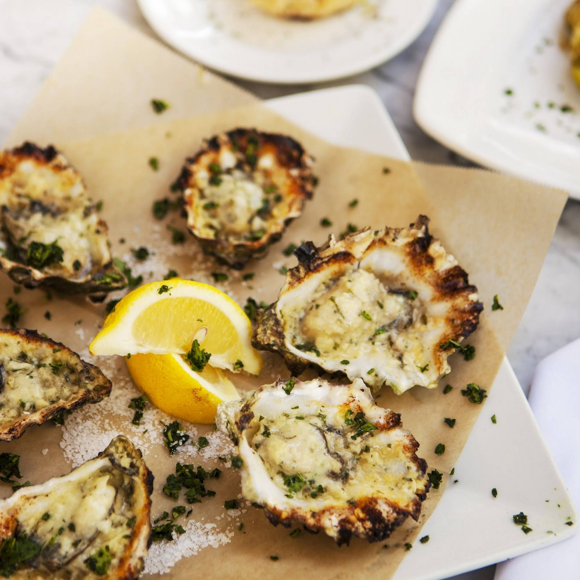 credited Dragos Charbroiled Oysters