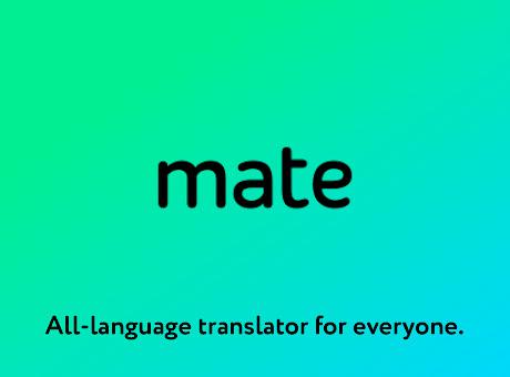 Mate Translate – translator, dictionary