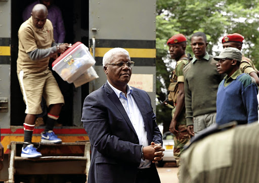 OUT OF FAVOUR: Former Zimbabwe finance minister Ignatius Chombo arrives at court to face corruption charges in HararePicture: Philimon Bulawayo/Reuters