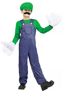 Videospelsfigur Grön