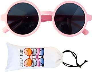 KD-3008 round retro sunglasses