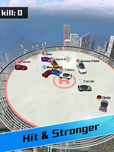 Screenshot for Car bumper.io - Roof Battle in United States Play Store