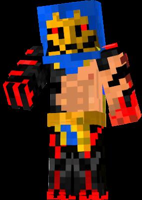 Guerrier utilisant son sang et une ceinture qui fait épée et fouet
