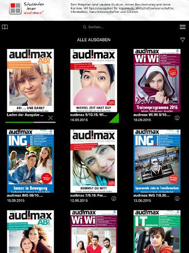 玩免費新聞APP|下載Audimax - Studium & Karriere app不用錢|硬是要APP